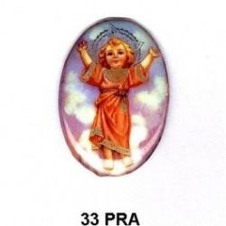 Angelito de Praga Oval 33 m.m.