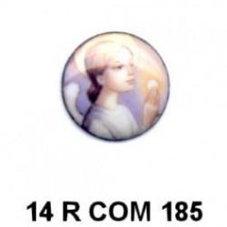 Comunión niña redonda 14m.m. diametro