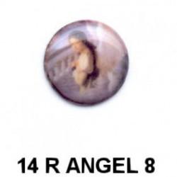Angel mujer redonda 14m.m. diametro
