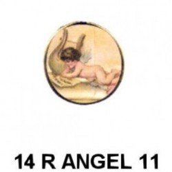 Angelelito redondo 14m.m. diametro