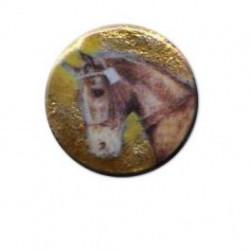 Cabeza caballo redondo 14m.m. diametro