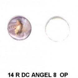 Angel Mujer con escalera redondo 14m.m. diametro