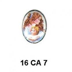 Camafeo mujer Oval 16 m.m.
