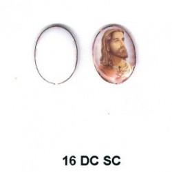 Esmalte Jesus oval 16m.m.