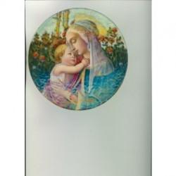 Esmaltes restaurados2013 redondo Virgen y niño