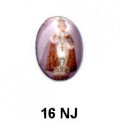 Niño santo Oval 16 m.m.
