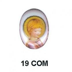 Niño comunion Oval 19 m.m.