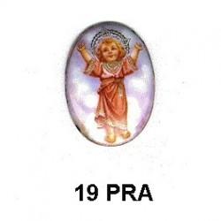 Niño de Praga Oval 19 m.m.