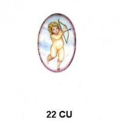 Cupido angel Oval 22 m.m.