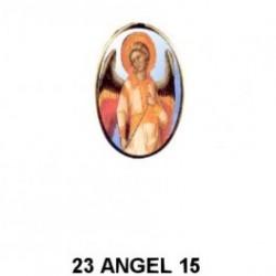 Angel mujer Oval 23 m.m.