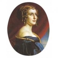 Lady Jane Ellenboroug Oval 33 m.m.