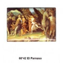 Pintura El Parnaso 60x42 m.m.