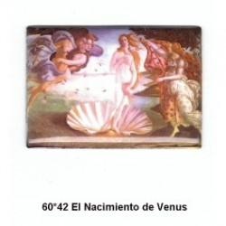 Pintura El Nacimiento de Venus 60x42 m.m.
