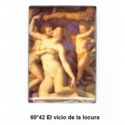 Pintura El Vicio de la Locura 60x42 m.m.