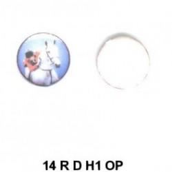 Hipica esmalte redondo 14m.m. diametro