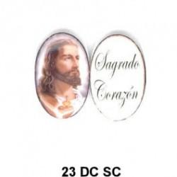 Jesus oval de 23m.m.