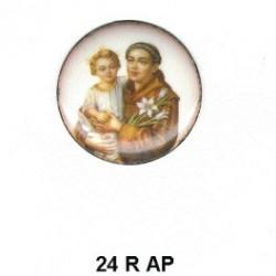 San Antonio de Padua redondo 24 m.m.diametro