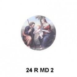 Sagrada Familia redondo 24 m.m.diametro