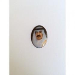 Jeque Arabe esmalte Oval 25 mm