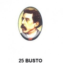 Busto Oval 25 mm